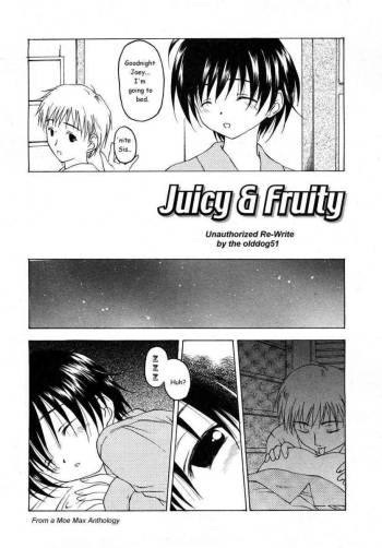 Juicy & Fruity [English] [Rewrite] cover