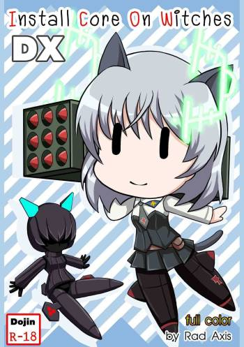 [Red Axis] Install Core On Witches DX (Strike Witches) [English] cover