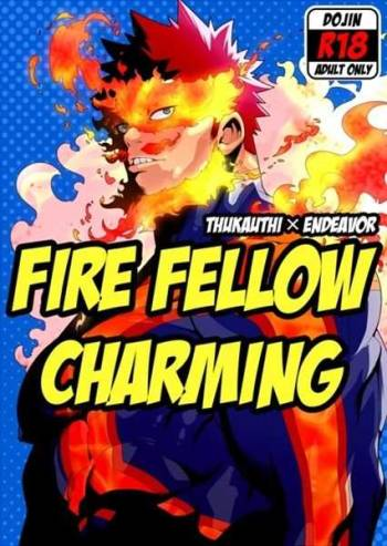 (C88) [Maraparte (Kojima Shoutarou)] FIRE FELLOW CHARMING (My Hero Academia) [Incomplete] cover