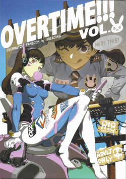 (FF30) [Bear Hand (Fishine, Ireading)] OVERTIME!! OVERWATCH FANBOOK VOL. 2 (Overwatch) [Chinese]