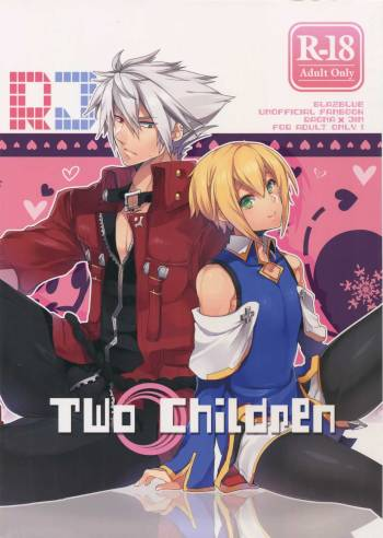 [Nekobakuchi (Uzukinoko)] Two Children (BLAZBLUE) cover