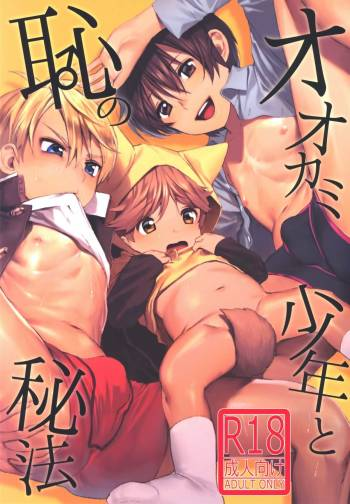 (ShotaFes) [SERVICE BOY (Hontoku)] Ookami Shounen to Haji no Hihou cover