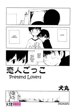 [Inumaru] Koibito Gokko | Pretend Lovers (Shounen Shikou 1) [English] [Tenshi-Nyow Translations]